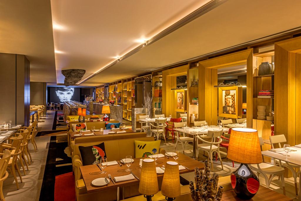 Le restaurant ADHD (All Day Hotel Dining) détourne les codes du restaurant contemporain chic